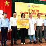 Tập đoàn T&T Group trao tặng hệ thống X-Quang kỹ thuật số cho huyện Thăng Bình