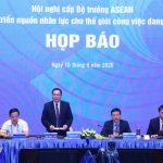 Hàng triệu lao động nguy cơ mất việc, các Bộ trưởng ASEAN chuẩn bị ra tuyên bố chung