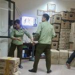 Hà Nội: Phát hiện hàng nghìn hộp sữa Hàn Quốc, thực phẩm chức năng nghi nhập lậu