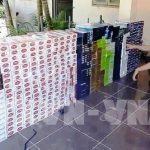 Tây Ninh bắt giữ vụ vận chuyển 7.500 bao thuốc lá ngoại nhập lậu