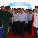 Thủ tướng Nguyễn Xuân Phúc phát lệnh khởi công dự án cao tốc Bắc – Nam tại Thanh Hóa