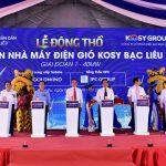 Tập đoàn Kosy: Khởi công dự án nhà máy điện gió Kosy Bạc Liêu