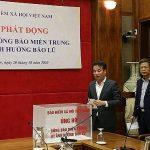 BHXH Việt Nam: Phát động quyên góp, hỗ trợ người dân miền Trung bị bão lũ