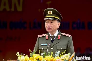Đại tướng Tô Lâm: 'Trọng dân, gần dân, lúc dân cần, lúc dân khó, có công an'