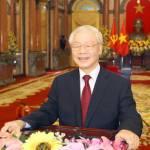 'Chúc Tổng Bí thư, Chủ tịch nước Nguyễn Phú Trọng nhiều sức khỏe, vững tay chèo'
