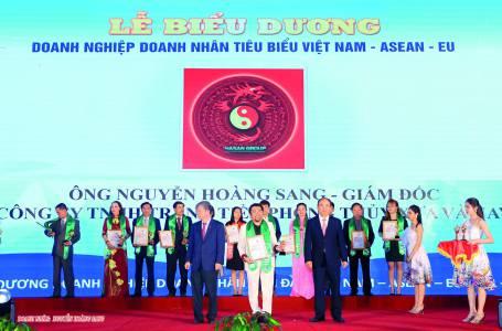 Doanh nhân Nguyễn Hoàng Sang nhà hoạt động xã hội tiêu biểu ASEAN:Tâm huyết với công tác an sinh xã hội