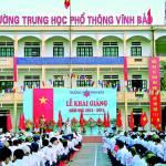 Trường THPT Vĩnh Bảo: Trường đạt chuẩn Quốc Gia mức độ 2
