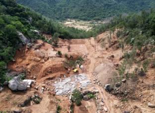 17.000m2 đất rừng phòng hộ trên núi Thị Vải bị san hạ