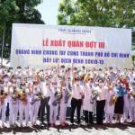 Quảng Ninh chi viện 70 y, bác sĩ cho tâm dịch TP Hồ Chí Minh