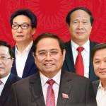 Quốc hội phê chuẩn 4 phó thủ tướng và 22 bộ trưởng, trưởng ngành