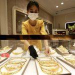 Giá vàng cao nhất 57,75 triệu đồng/ lượng