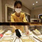 Giá vàng trong nước tăng lên 57,6 triệu đồng, bỏ xa giá thế giới 8,3 triệu đồng