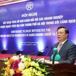 Bí thư Thành ủy Đinh Tiến Dũng: Hà Nội luôn sẵn sàng chào đón các nhà đầu tư nước ngoài