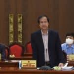 Bộ trưởng Nguyễn Kim Sơn: Hà Nội nên xem xét cho học sinh đi học lại